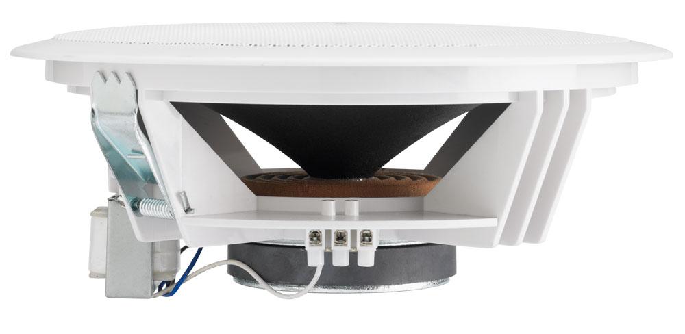 Dual-cone ceiling speaker 6W / 100V