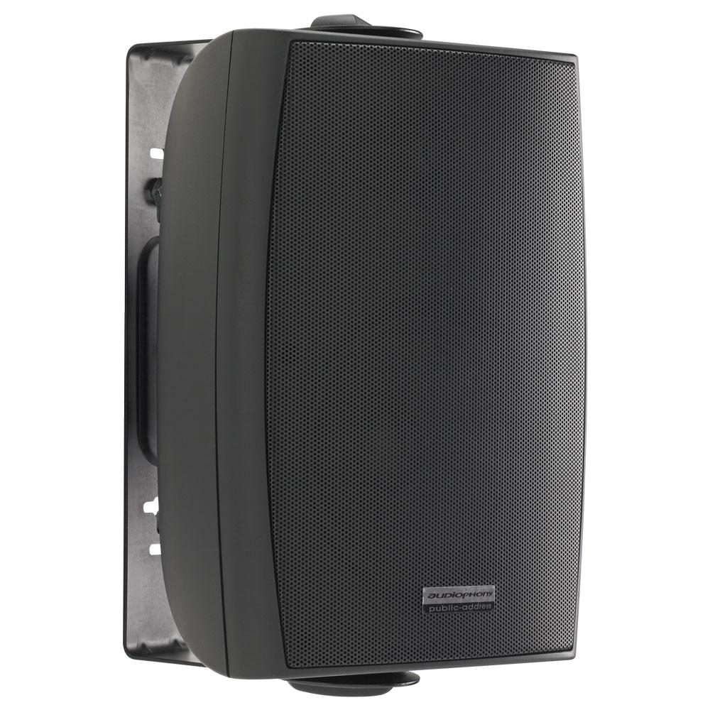 Installation speaker 80W HiFi or 100V - Black