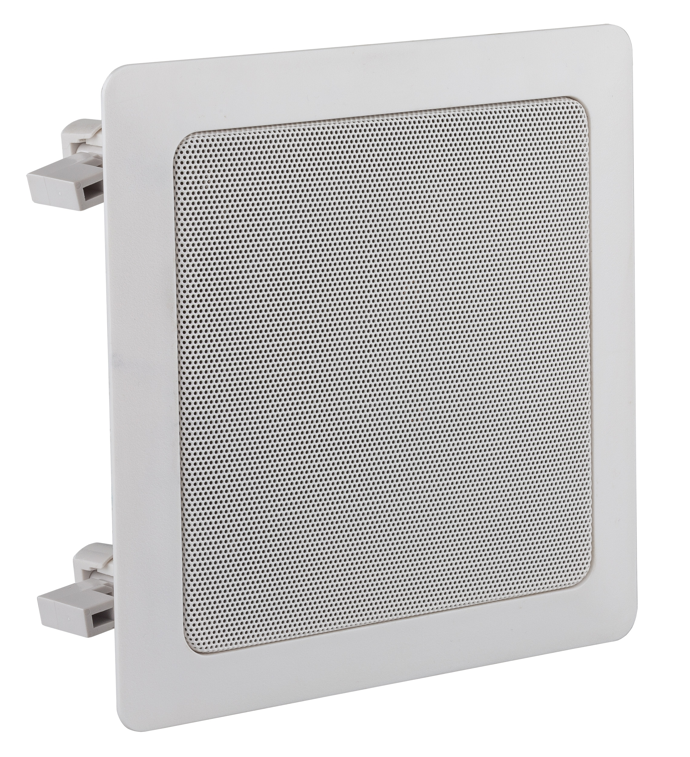 Square ceiling speaker 5�Ǧ white ABS 100V 5/10/20W