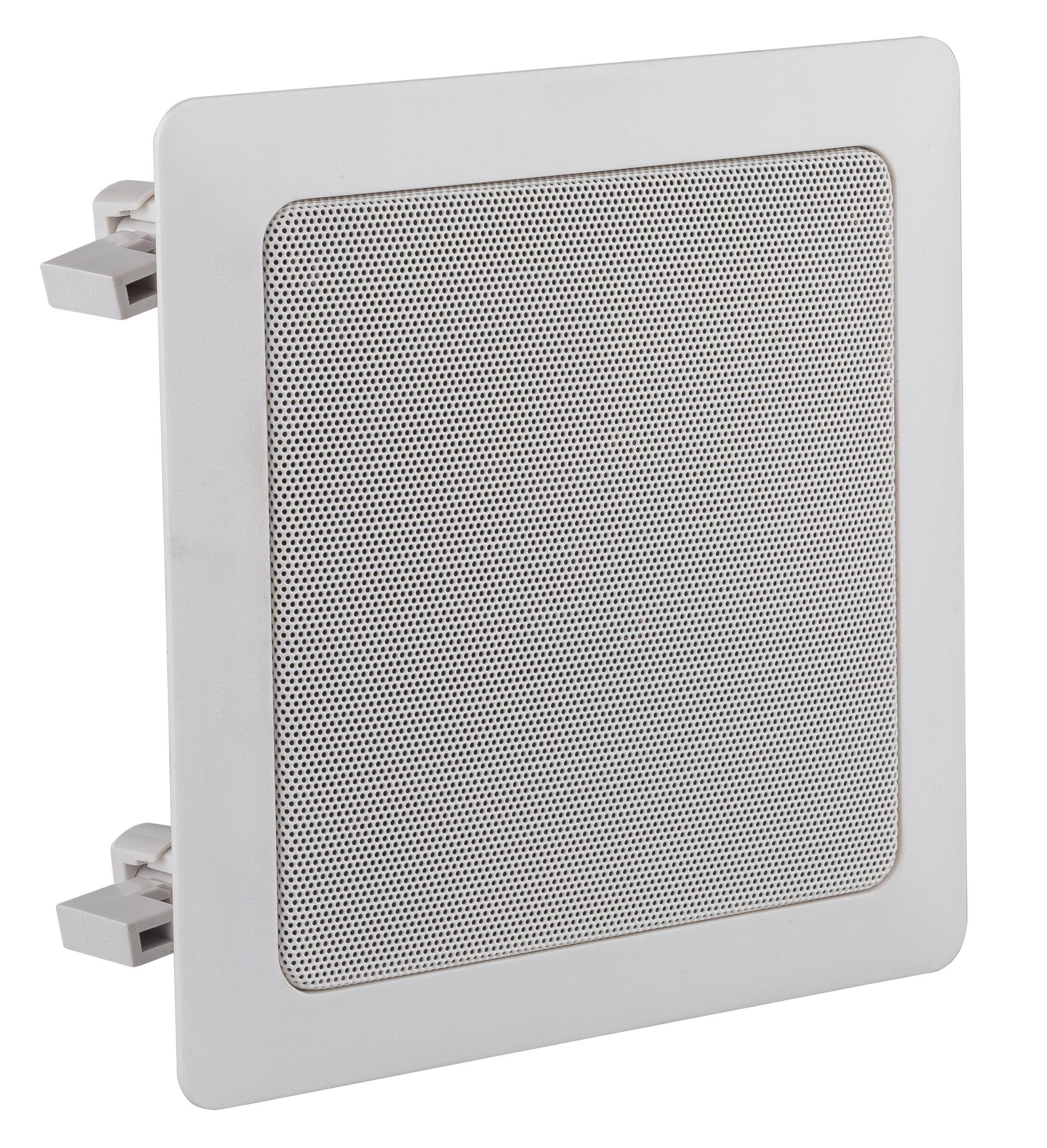 Square recessed ceiling speaker 100V 7.5/15/30W RMS