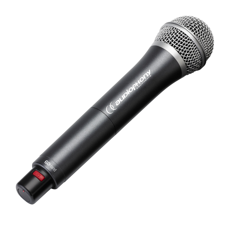 Handheld electret UHF microphone - 800MHz range