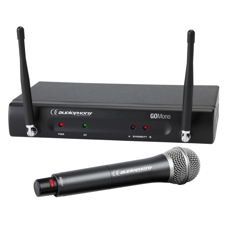 1 GOMono receiver + 1 GOHand handheld transmitter - 800MHz